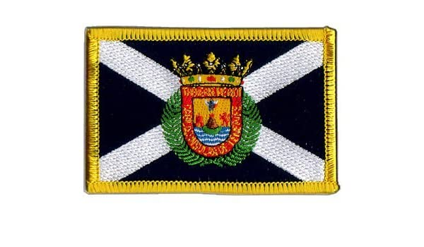 Digni España Tenerife Bandera bordado para planchar parche + libre ...