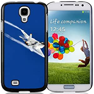 New Beautiful Custom Designed Cover Case For Samsung Galaxy S4 I9500 i337 M919 i545 r970 l720 With Military Aircraft In High Sky Phone Case