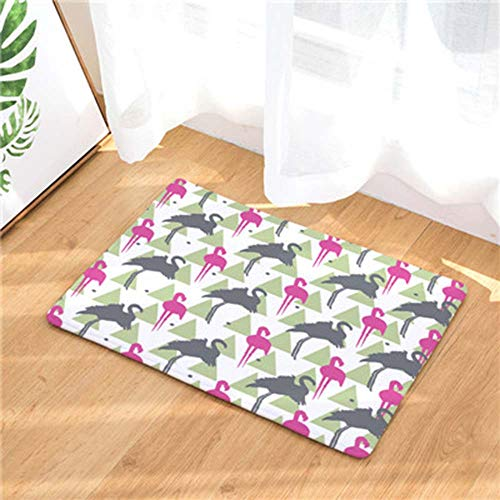 Room 30 Printed Mat Bear Carpets Bedroom For Xuebiner Mat 40x60cm Hallway Flamingo Living OqAAH