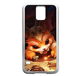 Gnar-001 League of Legends LoLDiy For SamSung Galaxy S3 Case Cover PC White