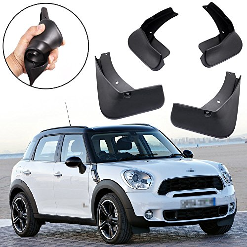 - SPEEDLONG Car Mud Flaps Splash Guards Fender Mudguard for Mini Cooper Countryman 2011-2016 12 13 14 15 R60