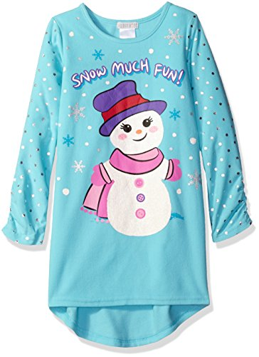 Girls' Holiday Soft Knit Flannel Nightgown