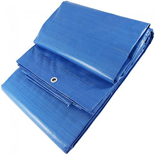 WURKO 355263 Toldo azul 3x6 3 x 6 ms