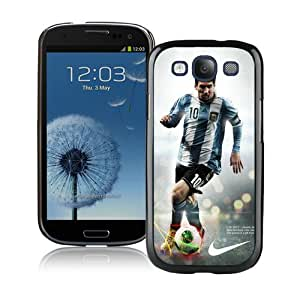 Unique And Lovely Designed Case For Samsung Galaxy S3 With Soccer Player Lionel Messi 23 Black Phone Case