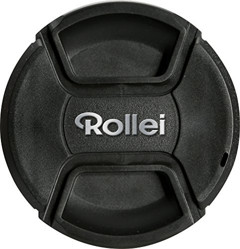 Rollei Lens Cap 62 mm - Robust Protection against Scratches and Damage incl. Backup-Tape perfect fitting - Black [並行輸入品]   B0788C1BRR