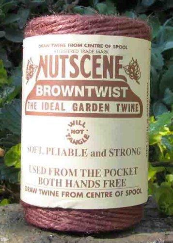 3 Rolls Nutscene Heritage 3-ply Jute Twine: 120m, Brown
