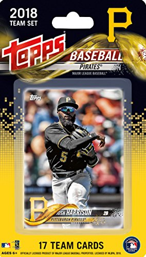 (Pittsburgh Pirates 2018 Topps MLB Baseball Factory Sealed Special Edition 17 Card Team Set with Josh Harrison and Starling Marte plus)