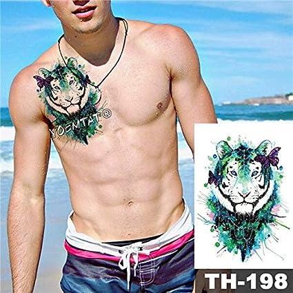 HXMAN 5 Unids Impermeable Tatuaje Temporal Pegatina Negro ...