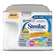 Similac Pro-Advance Infant Formula with Iron, with 2...