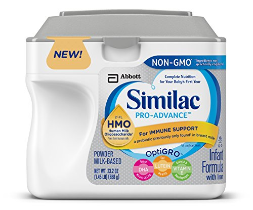 Similac Pro-Advance Infant Formula with 2'-FL Human Milk Oligosaccharide (HMO) for Immune Support, 23.2 ounces (Pack of 6)