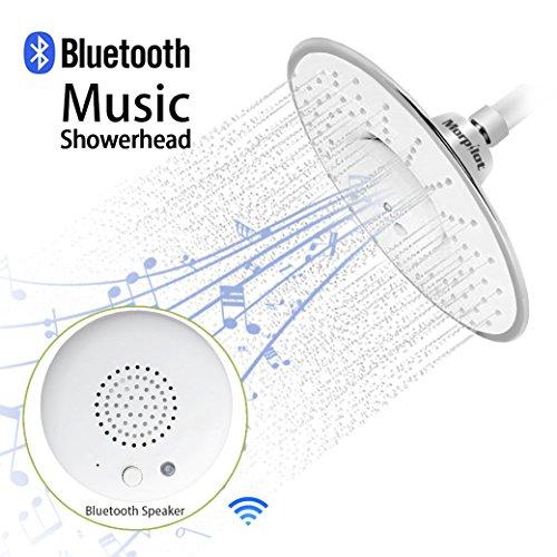 Morpilot Polished Waterproof Bluetooth Showerhead