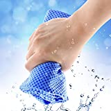 New Creative Cold Towel Exercise Sweat Summer Ice Towel 38X90Cm Toallas Sports Cool Towel Pva Hypothermia Beach Towel