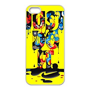 Zero Just do it Colorful melting pattern Cell Phone Case for Iphone 5s