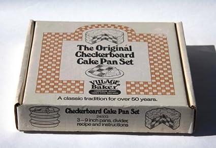 Amazon Vintage 1960s Village Baker The Original Checkerboard