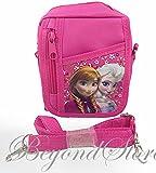 NEW Disney Frozen Elsa and Anna Pink Camera Bag Case Red Bag Handbag