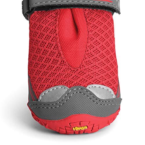 RUFFWEAR - Grip Trex, Red Currant, 2.25 in (4 Boots) by RUFFWEAR (Image #2)