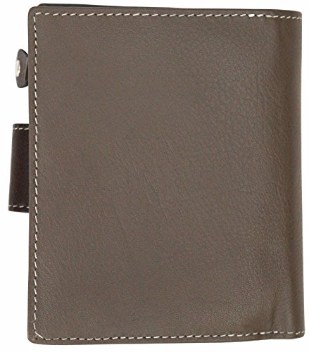 RFID Genuine Leather Ladies Soft Wallet Purse Womens Multi Colour 10 Card Slot