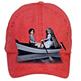 Aiyle Bonee When Marnie Was There Wallpaper Design Baseball Caps for Men Red One Size