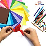 Deskomo Origami Paper for Kids Double Sided - Pack