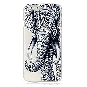 Generic Case - Mavis's Diary Fashion Painted Series PC Case Hard Cover Clear Protective Skin for Iphone 6(4.7'') (Tribal Elephant)