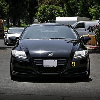 DNA MOTORING DNA THK-JDM-GD Gold Aluminum Front/Rear Japanese Car Trailer Tow Hook Ring Kit-M18 x 2.5: Automotive