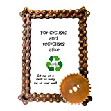 Mira (P) Bicycle Chain and Gear Photo Frame