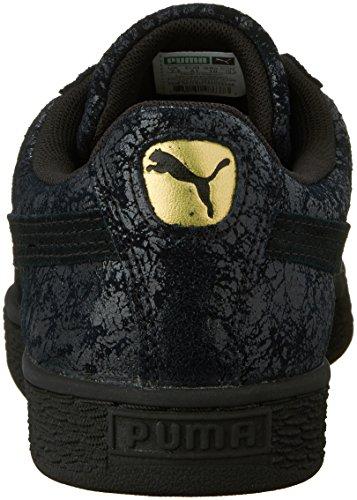 Puma Womens Suede Remaster Wns Fashion Sneaker Puma Black/Puma Black