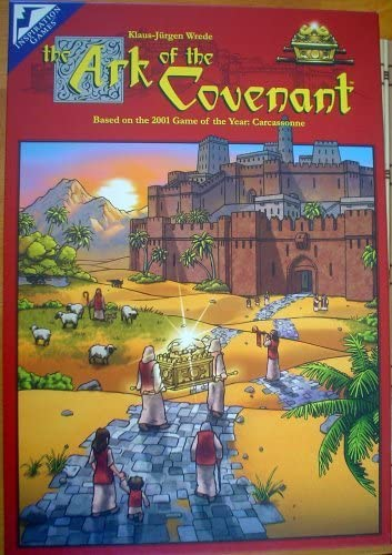 The Ark of the Covenant - Based on the 2001 Game of the Year: Carcassonne by Inspiration Games: Amazon.es: Juguetes y juegos