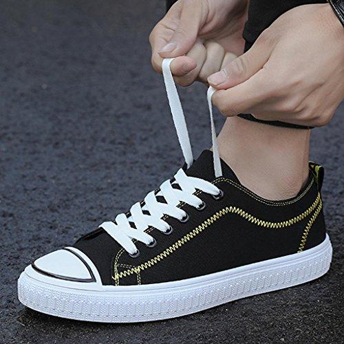 di Size ginnastica Yellow Scarpe tela basse Scarpe casual Scarpe da Color tendenza stile coreano uomo da scarpe 44 ginnastica di Espadrillas da Yellow YaNanHome Scarpe qBZYwAn