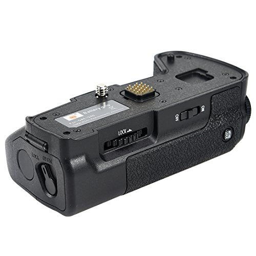 DSTE Pro DMW-BGG1 DMWBGG1 Vertical Battery Grip for Panasonic Lumix DMC-G80 DMC-G85 G80 G85 Digital Camera as DMW-BLC12