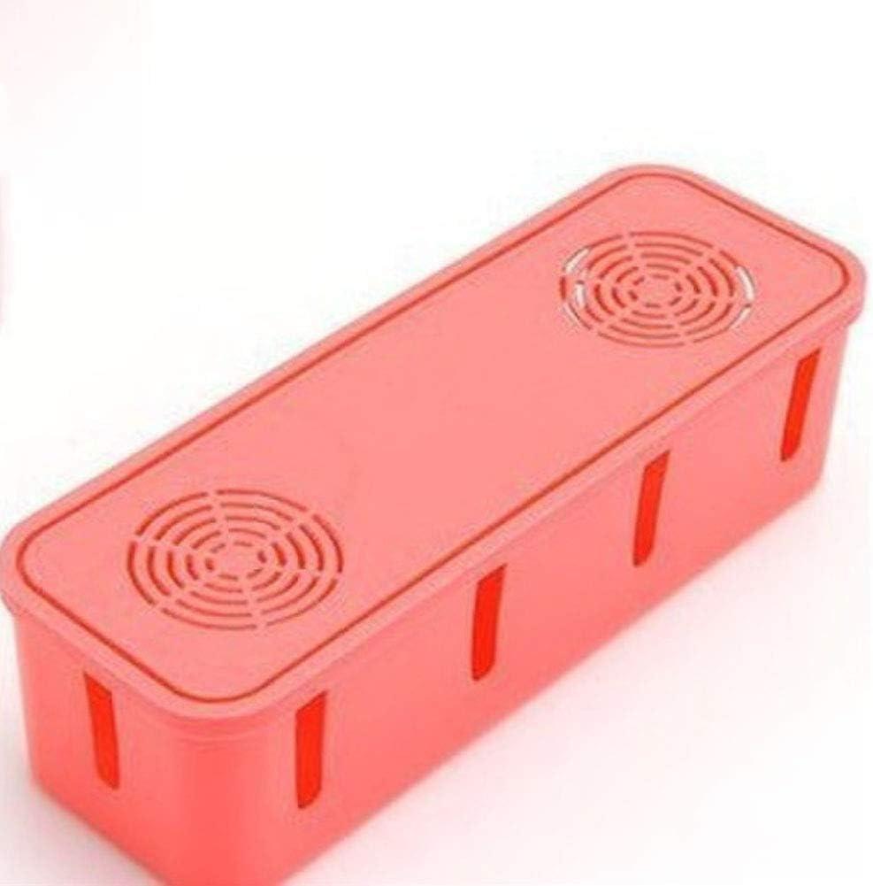Alivier Bo/îte de Rangement de Prise de Courant de Bureau Power Strip Container Anti-poussi/ère Fil /électrique c/âble Organisateur