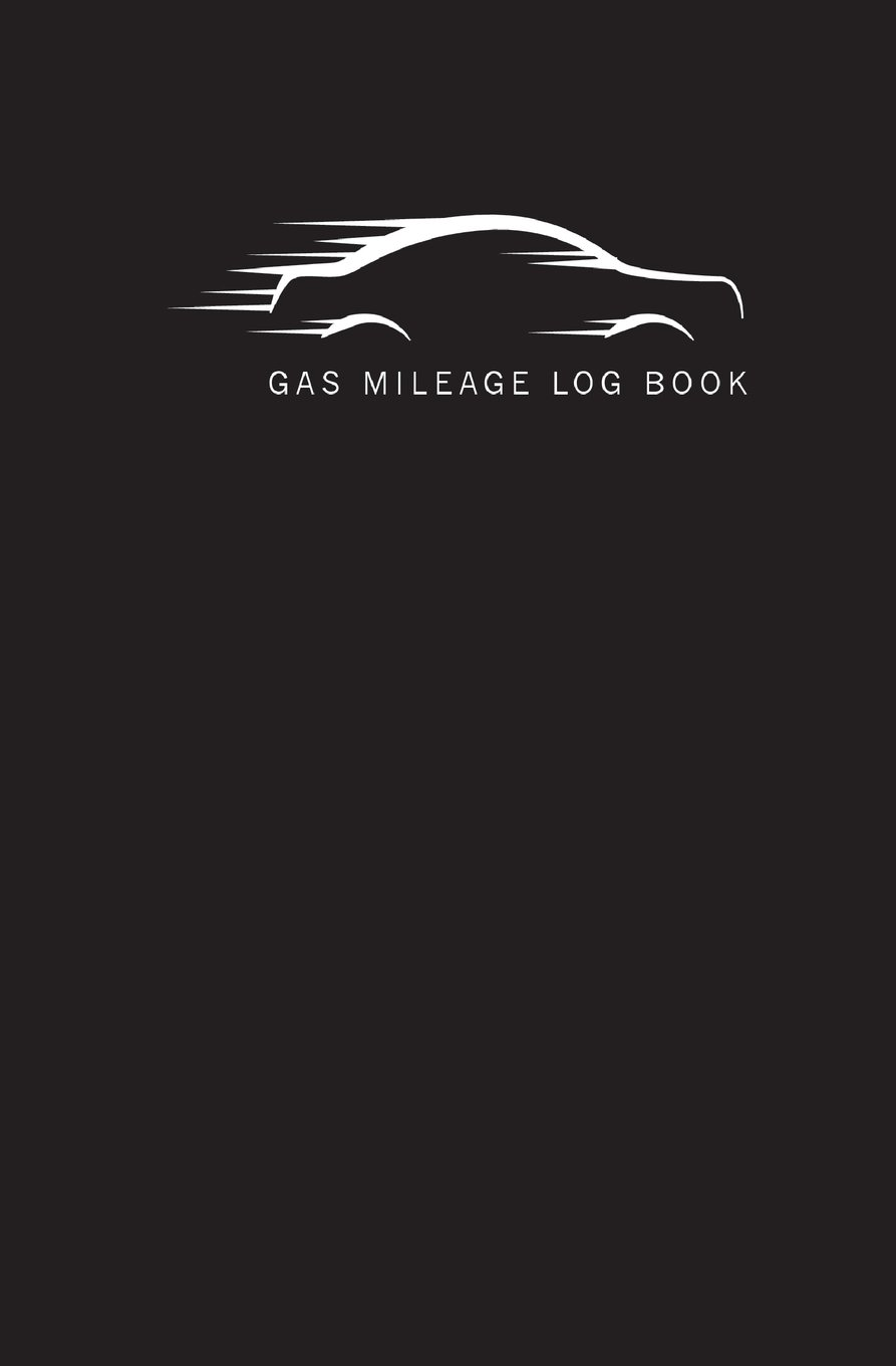 gas mileage log book size 5 25x8 inch 110 pages gas mileage