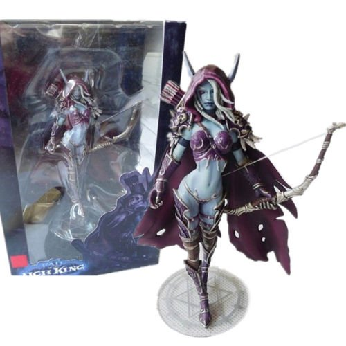 World of Warcraft Forsaken Queen Sylvanas Windrunner Action Figure Kid Toy 5.5″
