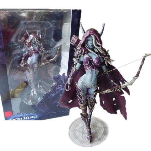 World of Warcraft Forsaken Queen Sylvanas Windrunner Action Figure Kid Toy 5.5″