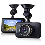 Dash Cam,EVASA 3.0' 1080P 170° Wide Angle Metal Shell Car On Dash Video with Night Vision,G-Sensor,WDR,Loop Recording Dashboard Camera