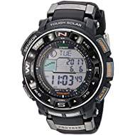 Men's Pro Trek PRW-2500R-1CR Tough Solar Digital Sport Watch