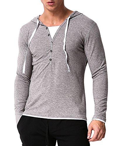 V-Neck Button Shirt - 6