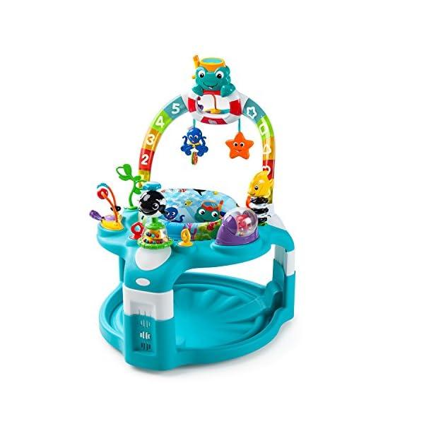 68c6628b4e3d Baby Einstein 2-in-1 Lights   Sea Activity Gym   Saucer - Epic Kids Toys