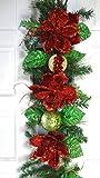 6' Christmas Magnolia Garland