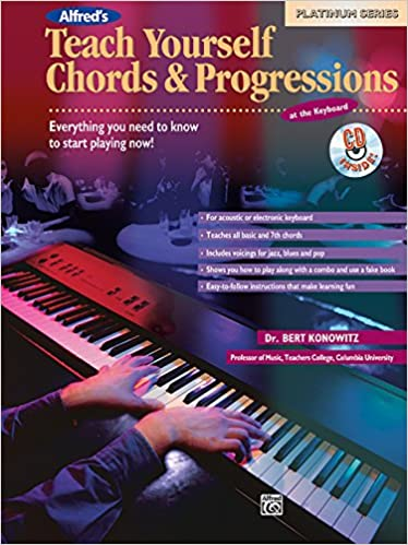 Alfreds Teach Yourself Chords Progressions At The Keyboard