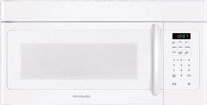 Amazon.com: Frigidaire ffmv162lw 1.6 Cu. Ft. Color blanco ...