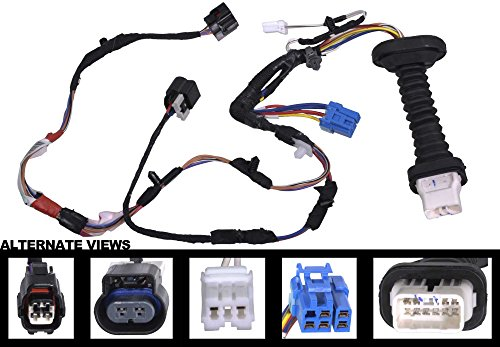 51IQgjLFr8L amazon com apdty 756616 power door lock wiring pigtail connector 2007 dodge ram rear door wiring harness at webbmarketing.co
