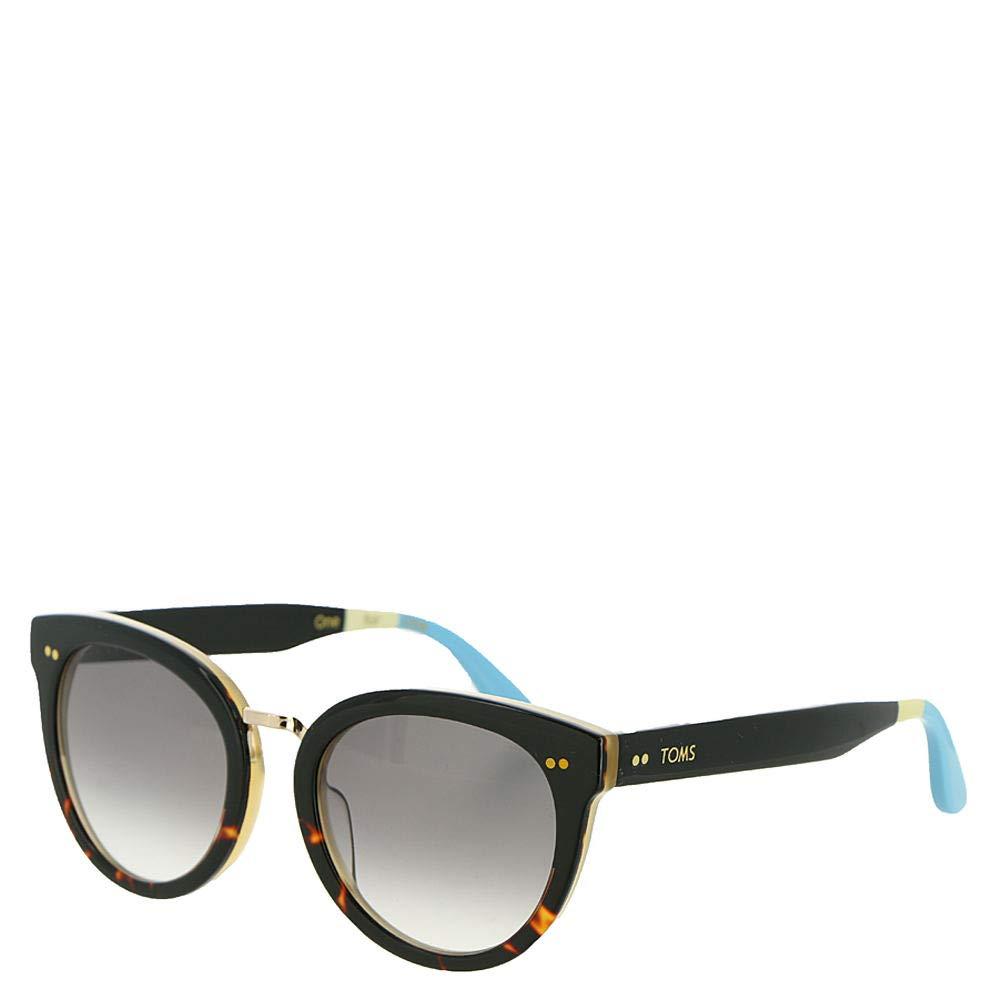 d2b48dd5a91 Amazon.com  TOMS Women s Yvette Clear Black Tortoise Sunglasses  Clothing