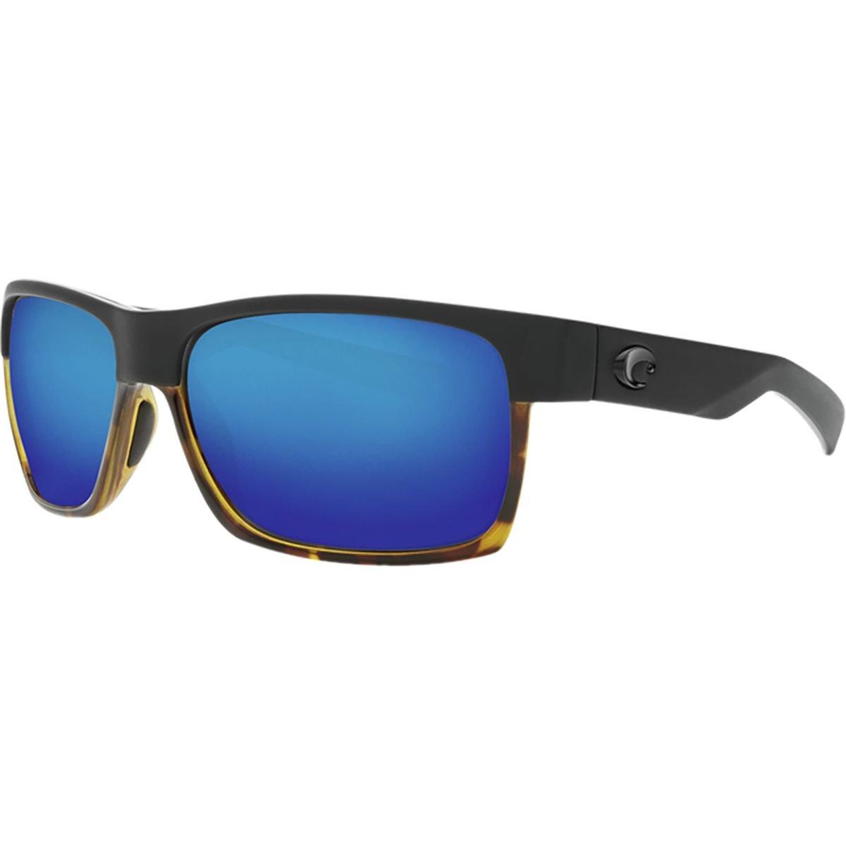 526fe98045e Costa Del Mar Costa Del Mar HFM181OBMGLP Half Moon Blue Mirror 580G Matte  Black Shiny Tortoise Frame Half Moon