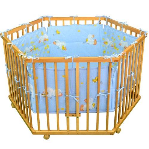 Honey Bee Parque de lujo Parque para bebe hex/ágono 52304-02
