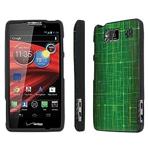 [NakedShield] Verizon Motorola Droid RAZR HD XT926 (Matrix) Total Armor Snap-On LifeStyle Phone Case