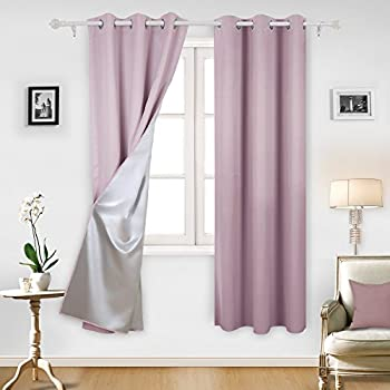 Amazon.com: Deconovo Blackout Curtains Room Darkening ...