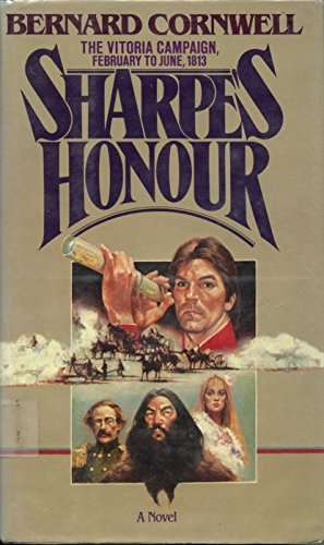 book cover of Sharpe\'s Honour