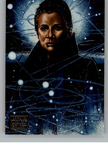 2018 Topps Star Wars Galaxy Legends Non Sport Trading Card #C-2 Leia Organa Official Collectible Entertainment Card