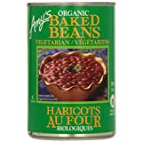 Amy'S Kitchen Organic Vegetarian Baked Beans, 398 ml